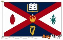QUEENS UNIVERSITY OF BELFAST  ANYFLAG RANGE - VARIOUS SIZES